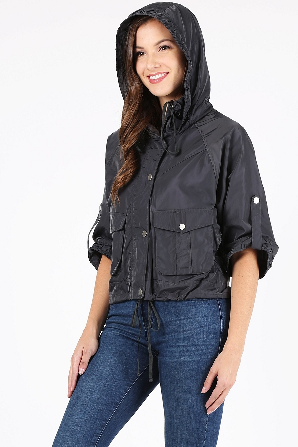 WOVEN WATER RESISTANCE JACKET